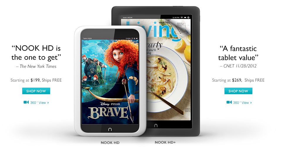 Ремонт Barnes&Noble NOOK
